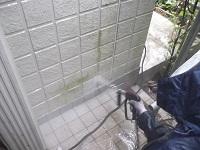 足場組み・洗浄